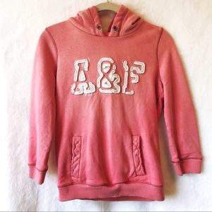Abercrombie & Fitch Light Pink Hoodie
